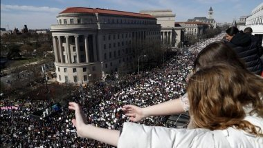 Massive Crowds Rally Across US to Urge Gun Control