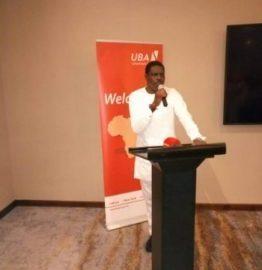 UBA CEO Mr Johnson Agoreyo