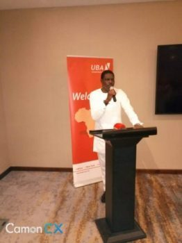 UBA CEO Mr Johnson Agoreyo