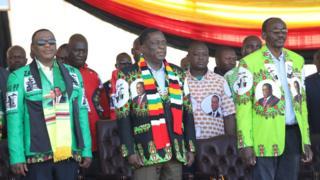 Zimbabwe President Mnangagwa survives Bulawayo explosion