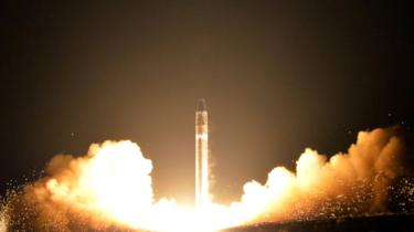 North Korea 'working on new missiles', US officials say
