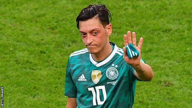 Mesut Ozil: German FA rejects Arsenal midfielder's racism claim