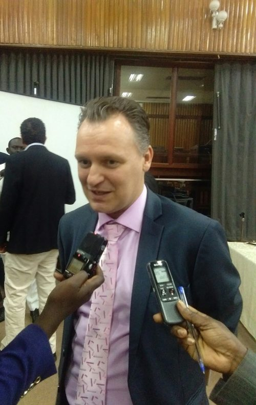 MTN CEO Vanhelleputte Says 99% of Ugandans   Embraced Electronic Airtime