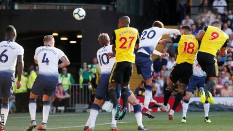Read more on Watford shock Spurs to maintain perfect start