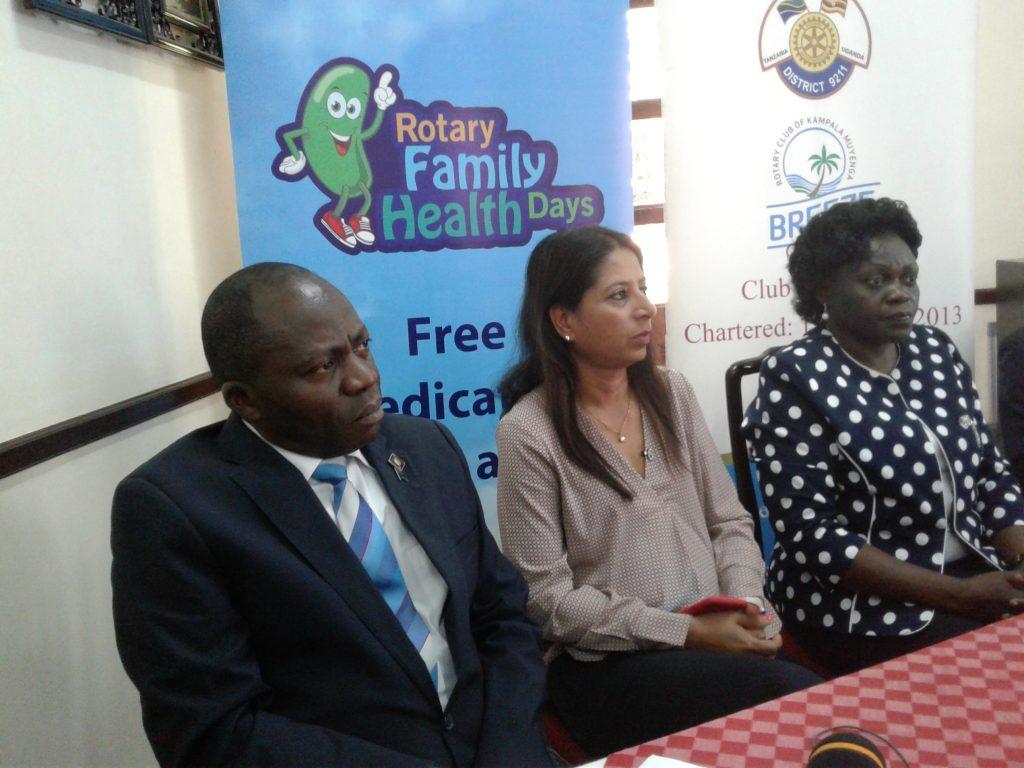 Free Rotary Health Camp Targets 90,000 Vulnerable Ugandans