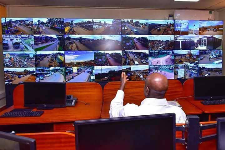 President Yoweri Museveni Commissions   CCTV  Camera Project