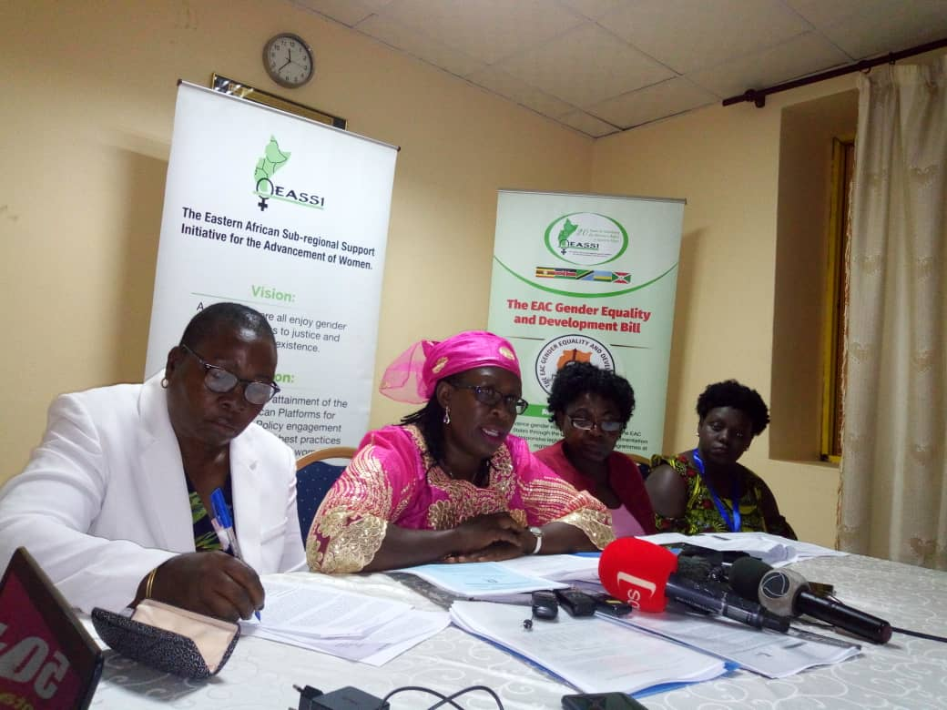 EAC Women Want Heads Of State Assent To Gender Bill