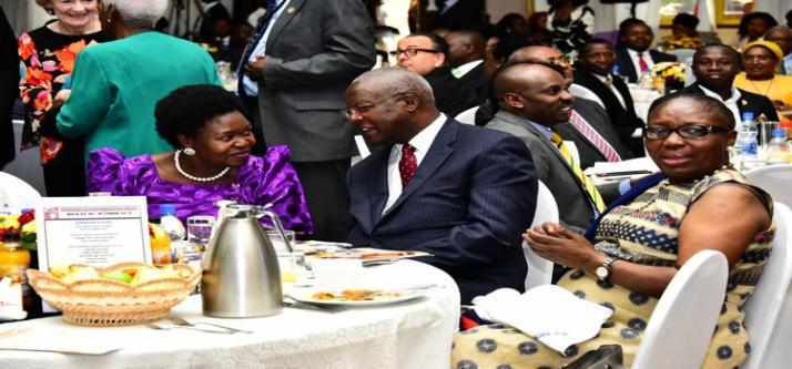 Kadaga Advises Leaders to Work Hard, Use Time Effectively