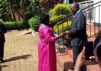 LOP- Visits Former DP President  Paul Semwogere