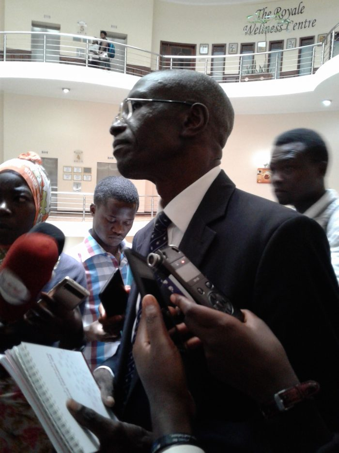 Micheal Olupot Tuka. Dept Director Financial intelligence authority.