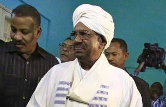 Omar Bashir The Ex President Of Sudan.