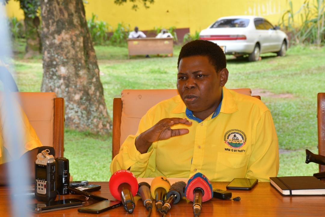 Rosemary Namayanja , NRM National Treasurer
