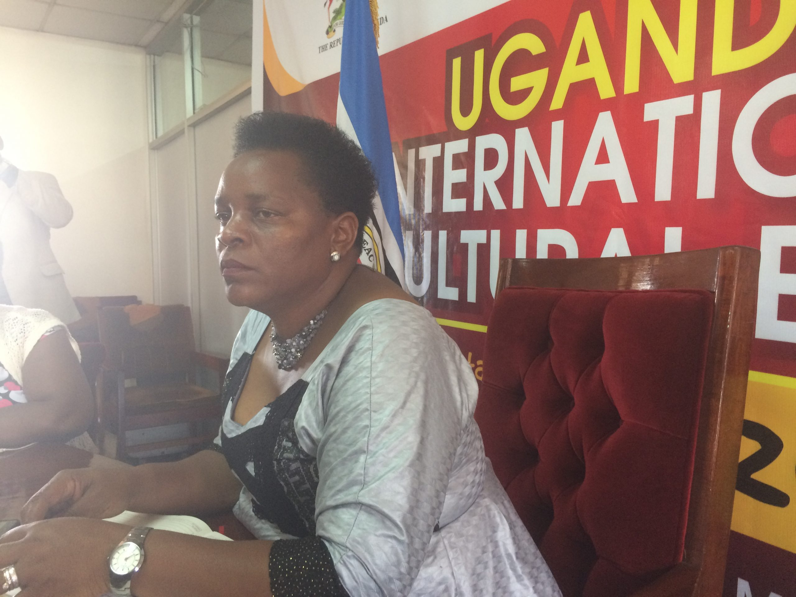 Hon. Peace Mutuzo. Gender & culture minister in Uganda.