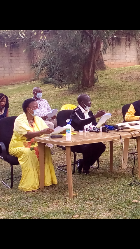 NRM Electoral Commission Addressing Media