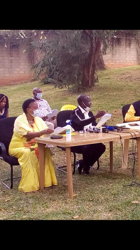 NRM Electoral Commission Addressing Media